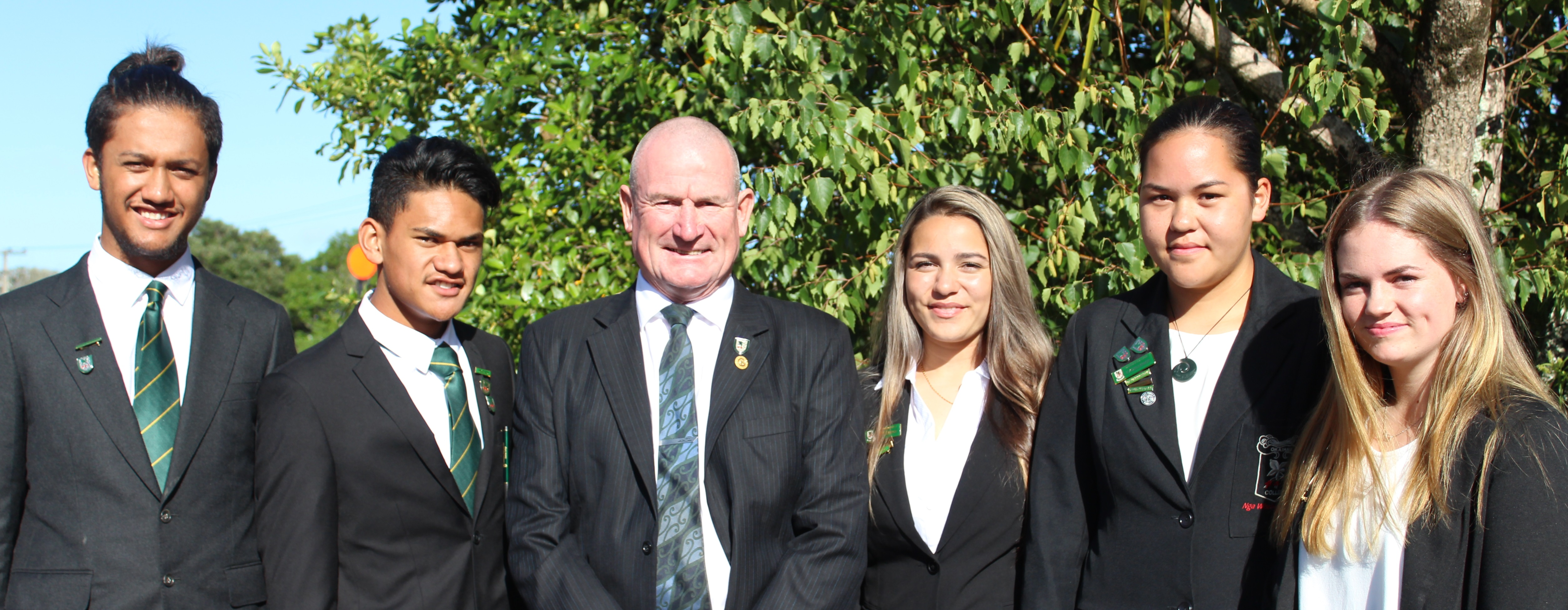 Okaihau College Head Students 2016